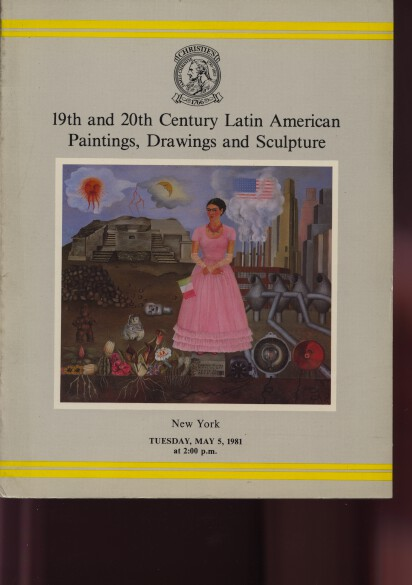 Christies 1981 19th & 20th Century Latin American Paintings