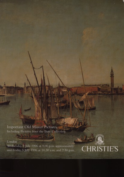 Christies 1992 Important Old Masters Pictures, Bute Collection