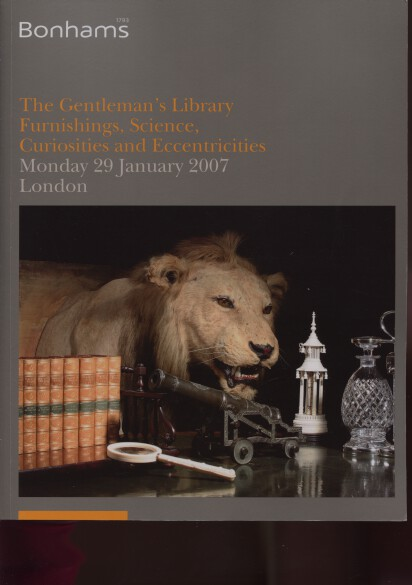Bonhams 2007 The Gentleman's Library, Science, Curiosities