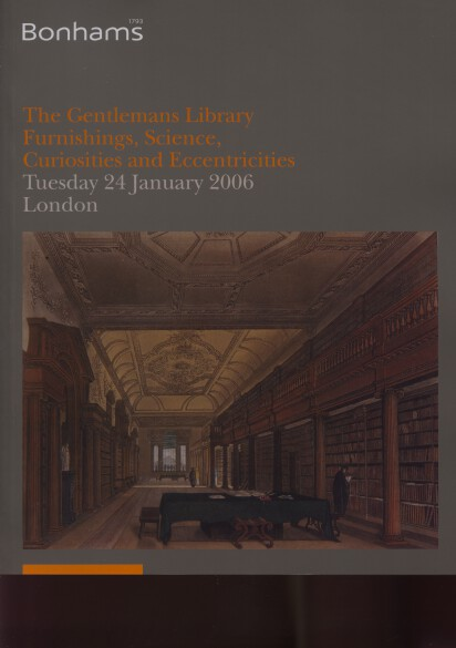 Bonhams 2006 The Gentleman's Library, Science, Curiosities