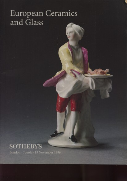 Sothebys 1996 European Ceramics and Glass