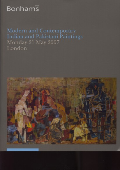 Bonhams 2007 Modern & Contemporary Indian & Pakistani Paintings