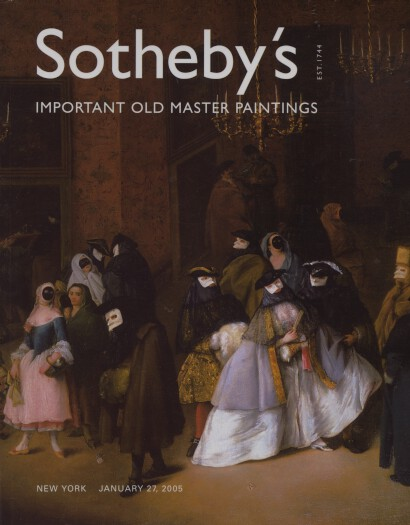 Sothebys 2005 Important Old Master Paintings