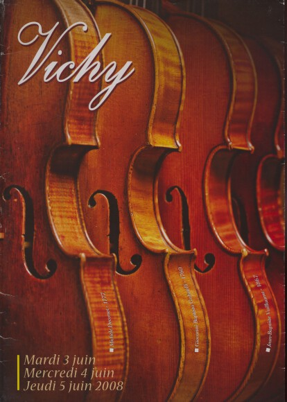 Vichy 2008 Violins and Bows