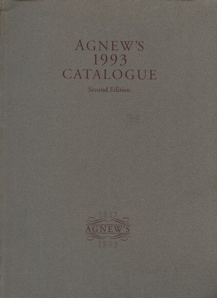 Agnews 1993 Catalogue 2nd Edition (paintings)