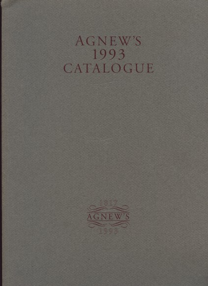 Agnews 1993 Catalogue (paintings)
