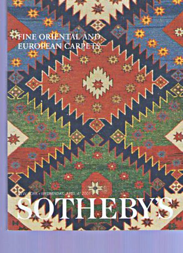 Sothebys April 2001 Fine Oriental & European Carpets