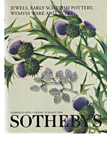 Sothebys 2000 Jewels, Early Scottish Pottery, Wemyss