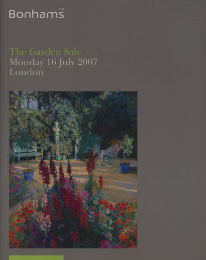 Bonhams 2007 The Garden Sale