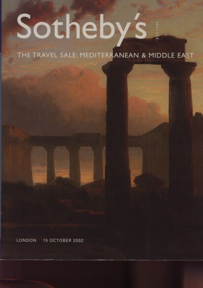 Sothebys 2002 Travel Sale Mediterranean & Middle East