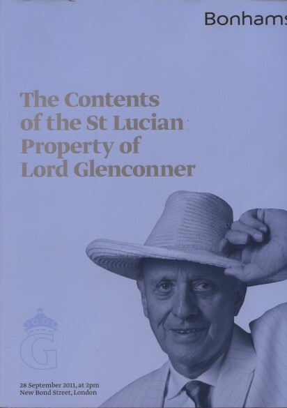 Bonhams 2011 Lord Glenconner St Lucian Property Contents
