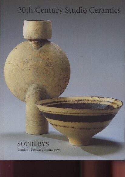 Sothebys 1996 20th Century Studio Ceramics