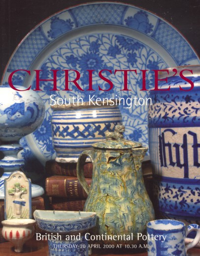 Christies 2000 British & Continental Pottery