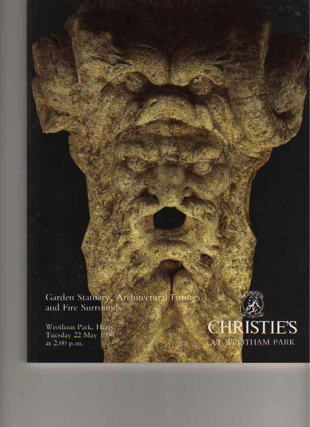 Christies 1990 Garden Statuary, Architectural fittings ....