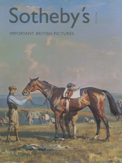 Sothebys November 2003 Important British Pictures