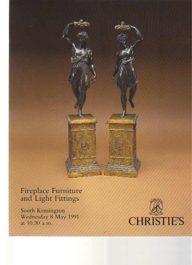 Christies 1991 May Fireplace Furniture & Light Fittings