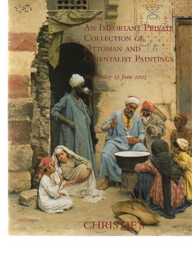 Christies 2005 Important Ottoman, Orientalist Paintings