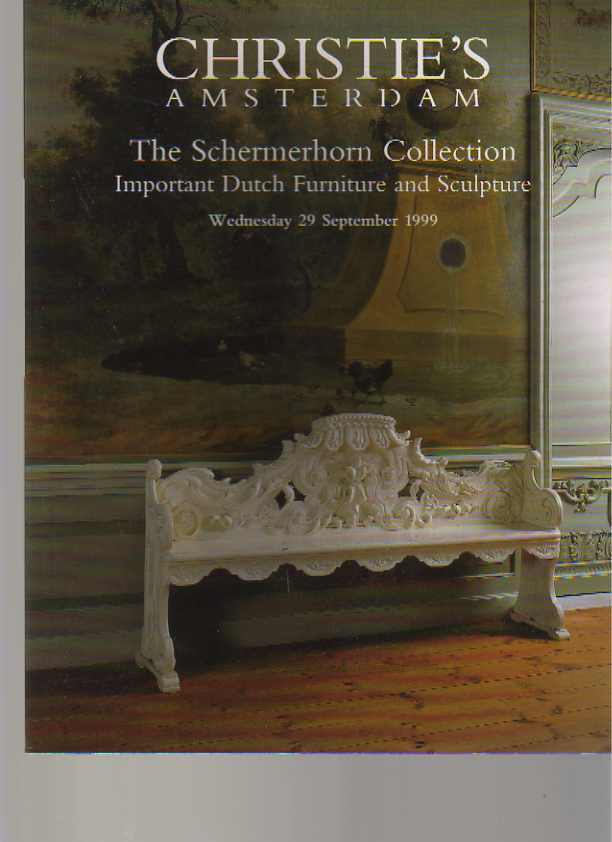 Christies 1999 Schermerhorn Collection Important Dutch Furniture