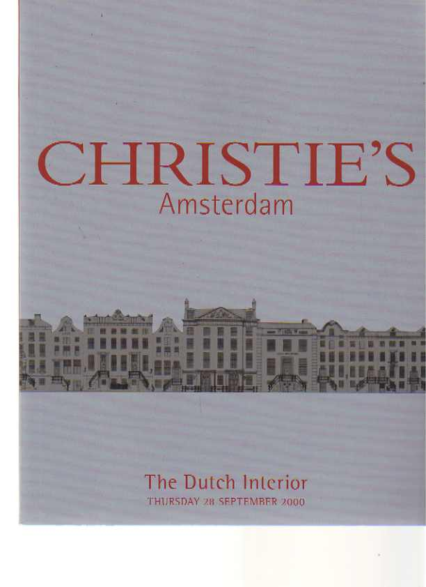 Christies 2000 The Dutch Interior