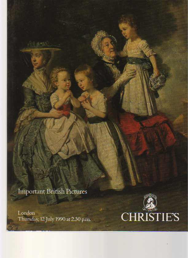 Christies July 1990 Important British Pictures