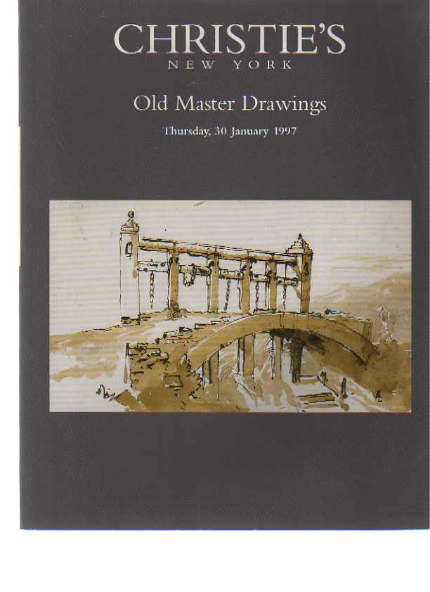Christies January 1997 Old Master Drawings