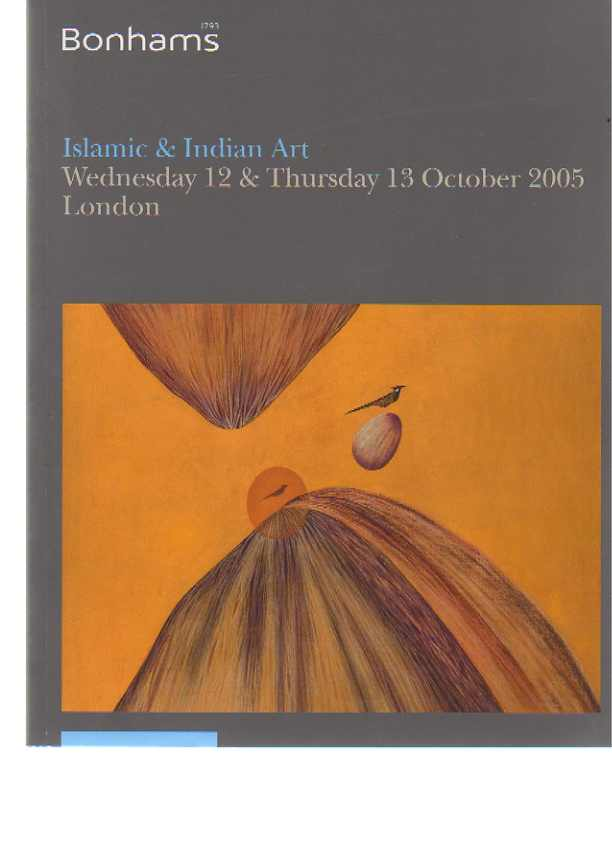Bonhams 2005 Islamic & Indian Art
