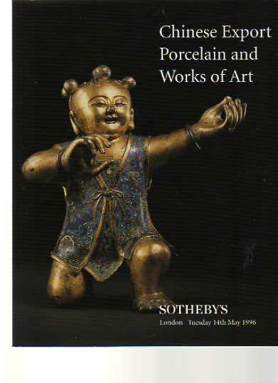 Sothebys 1996 Chinese Export and Works of Art