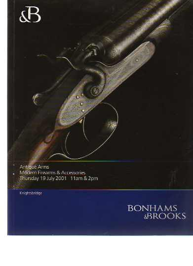 Bonhams 2001 Antique Arms, Modern Firearms & Accessories