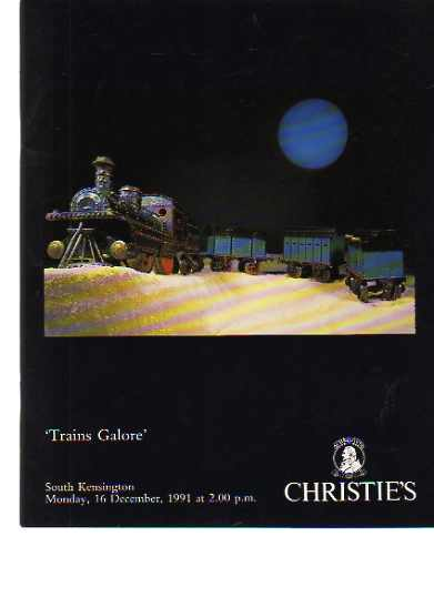 Christies 1991 Trains Galore