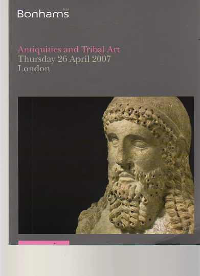 Bonhams 2007 Antiquities & Tribal Art