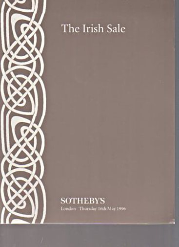 Sothebys 1996 The Irish Sale