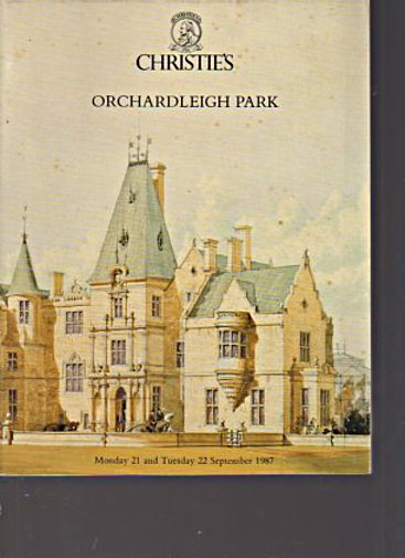 Christies 1987 Orchardleigh Park Somerset