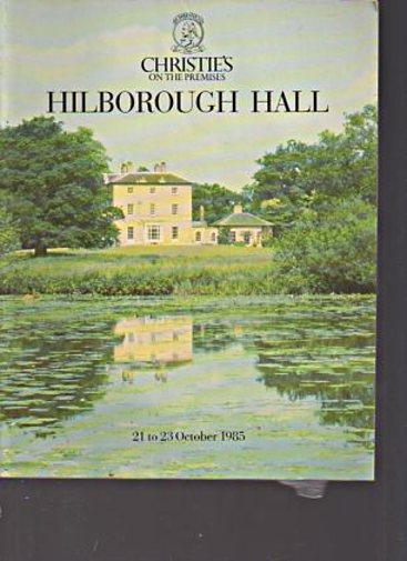 Christies 1985 Hilborough Hall Norfolk