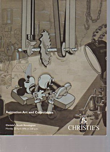 Christies 1996 Animation Art and Collectables