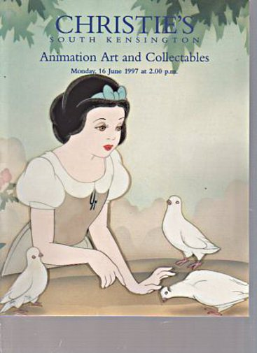 Christies 1997 Animation Art and Collectables