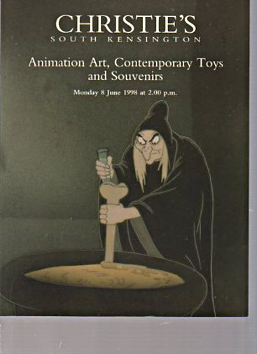 Christies 1998 Animation Art, Contemporary Toys & Souvenirs