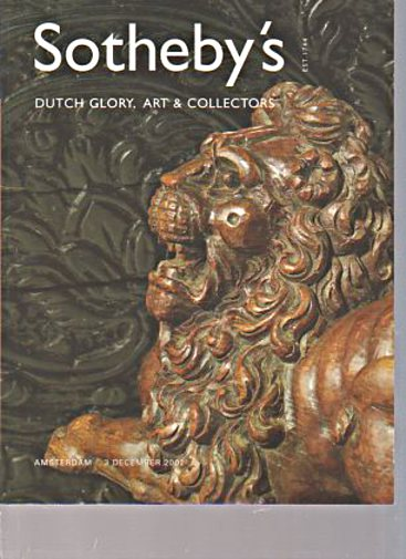 Sothebys 2002 Dutch Glory, Art & Collectors