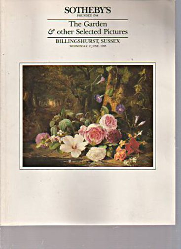 Sothebys 1993 The Garden & Selected Pictures