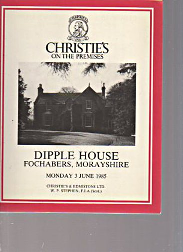Christies 1985 Dipple House Fochabers, Morayshire