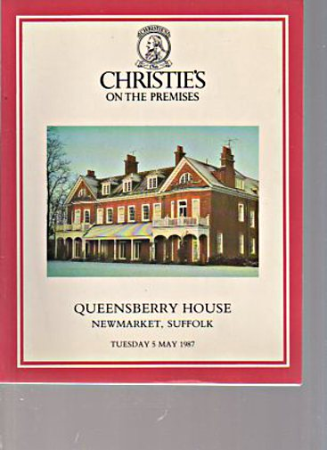 Christies 1987 Queensberry House Newmarket, Suffolk