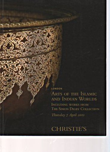 Christies April 2011 Arts the Islamic, Indian Worlds, Digby Collection
