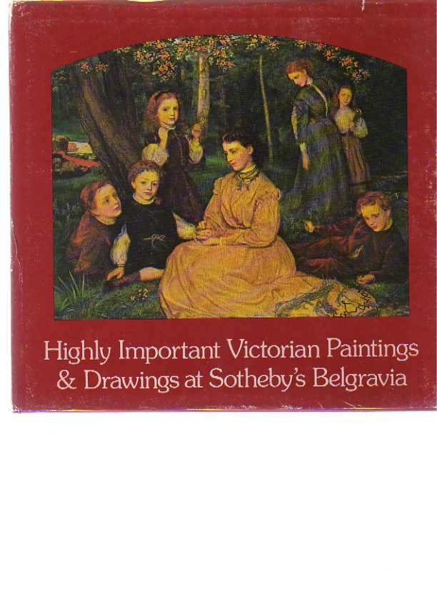 Sothebys 1978 Fine Victorian Paintings, Drawings, Watercolours
