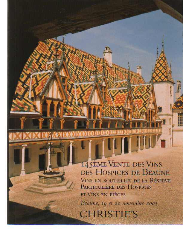 Christies 2005 Wine from the Hospices de Beaune