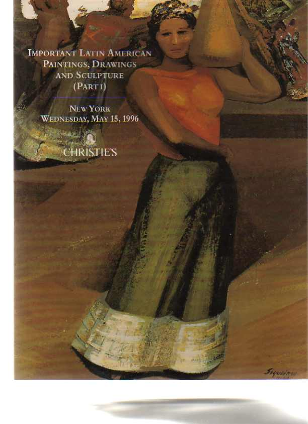 Christies 1996 Important Latin American Paintings & Sculpture