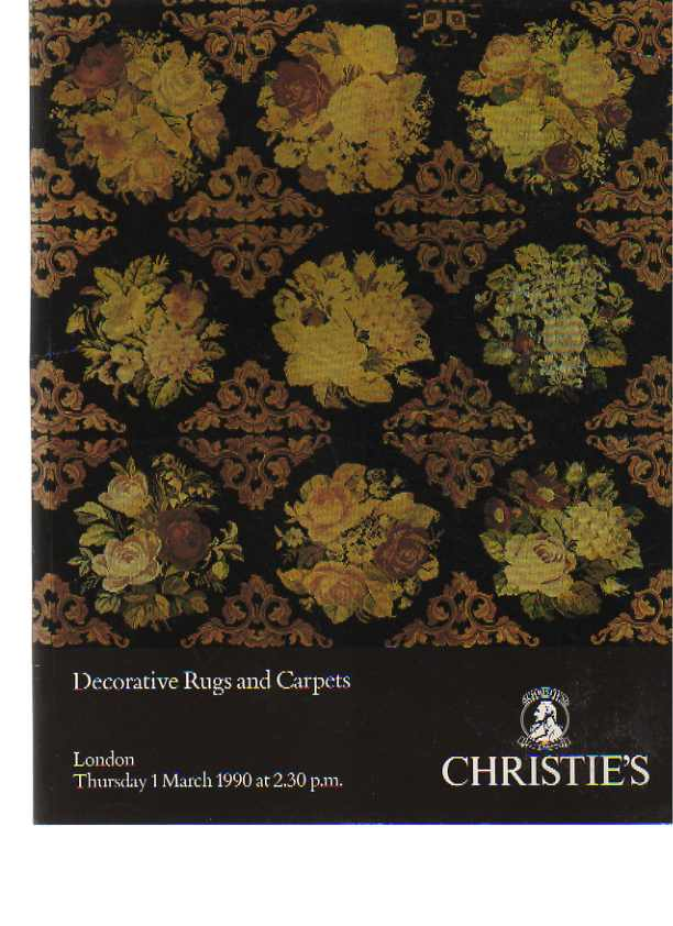 Christies 1990 Decorative Rugs and Carpets