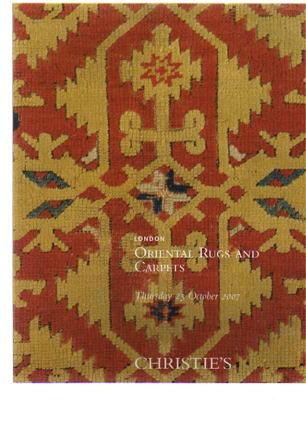 Christies 2007 Oriental Rugs and Carpets