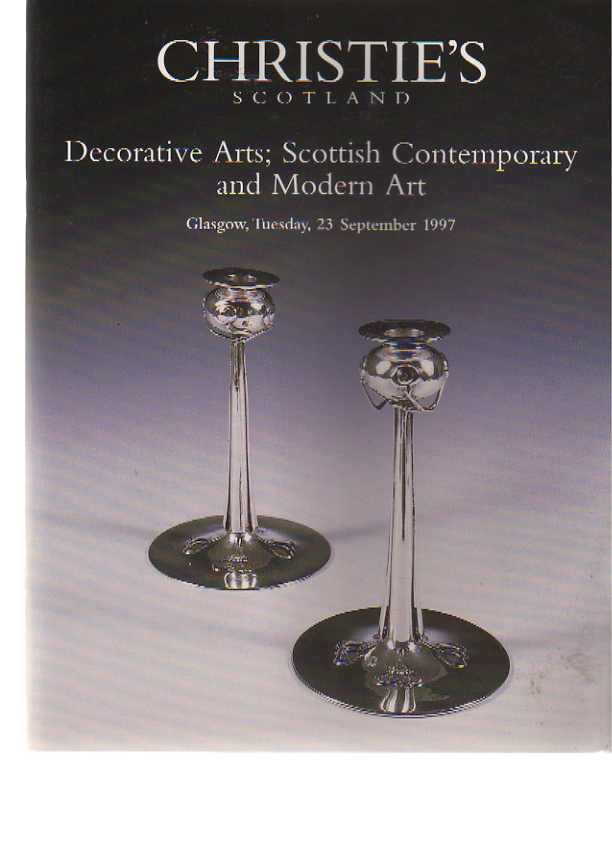 Christies 1997 Decorative Arts inc Scottish Modern Art