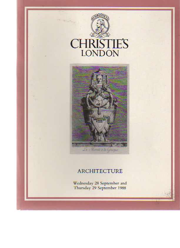Christies 1988 Architecture