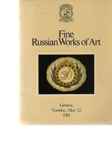 Christies 1981 Fine Russian Works of Art