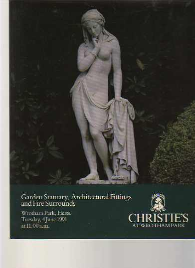 Christies 1991 Garden Statuary, Architectural Fittings ....